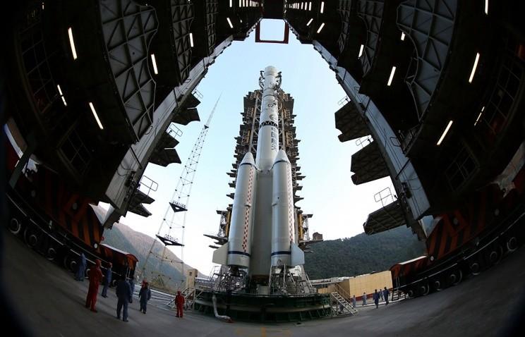 Китай, луноход, космос