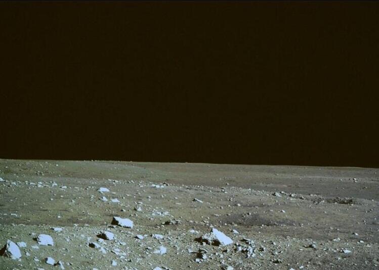 космос, луна, китай, луноход