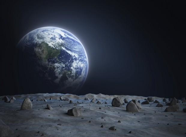 Луна, космос, наука