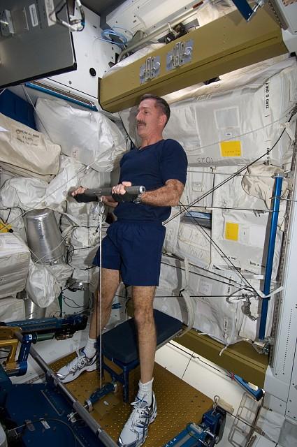 космонавт, тренировки