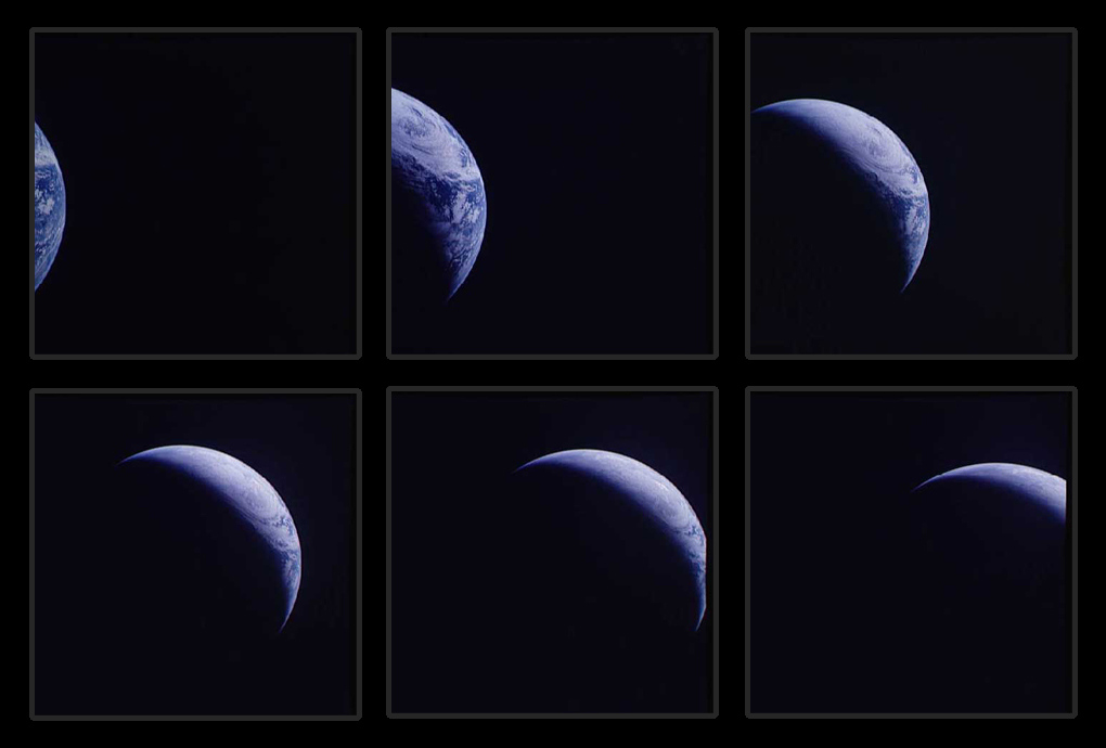 Аполлон-4 фотографии Земли