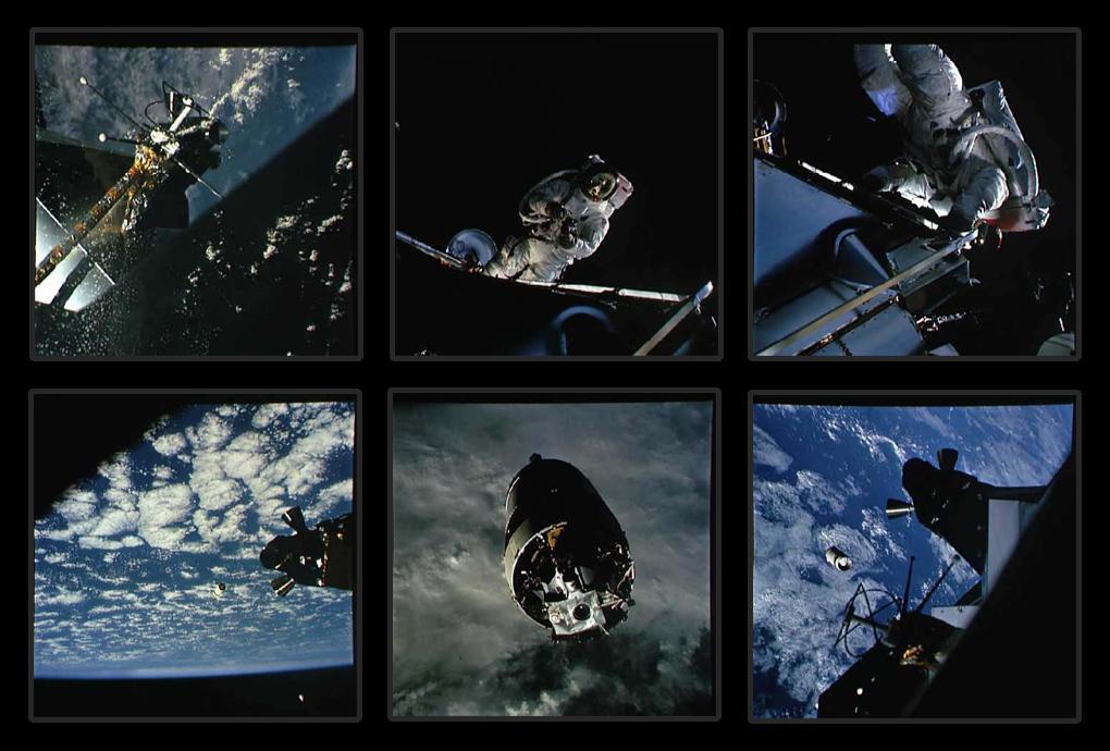 Аполлон-9 первый испытательный полёт