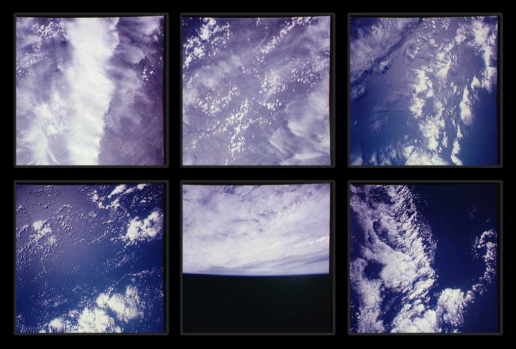 Аполлон облака с орбиты