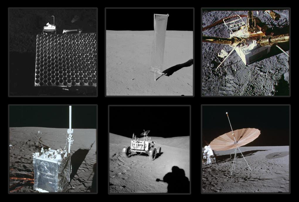 научное оборудование миссий Аполлон