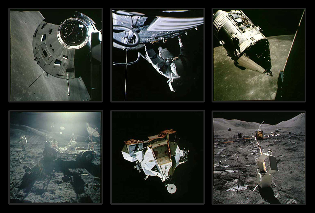 Фотографии с борта Аполлон-17