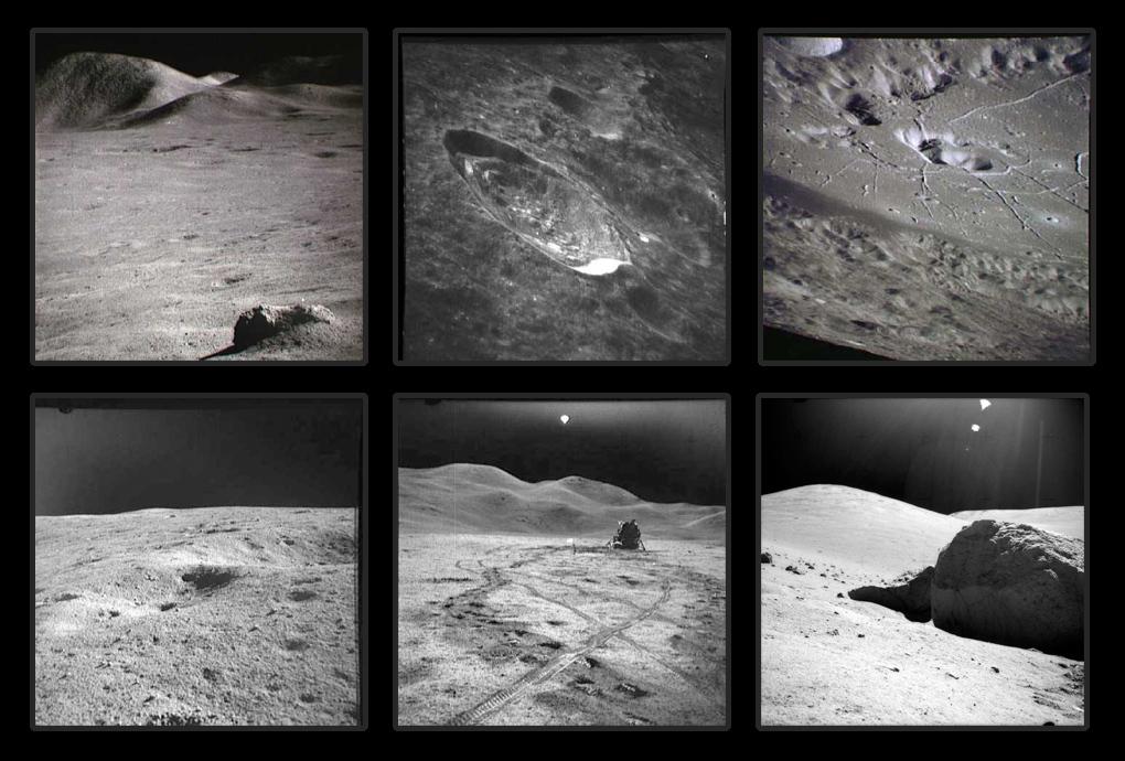 фотографии с поверхности Луны