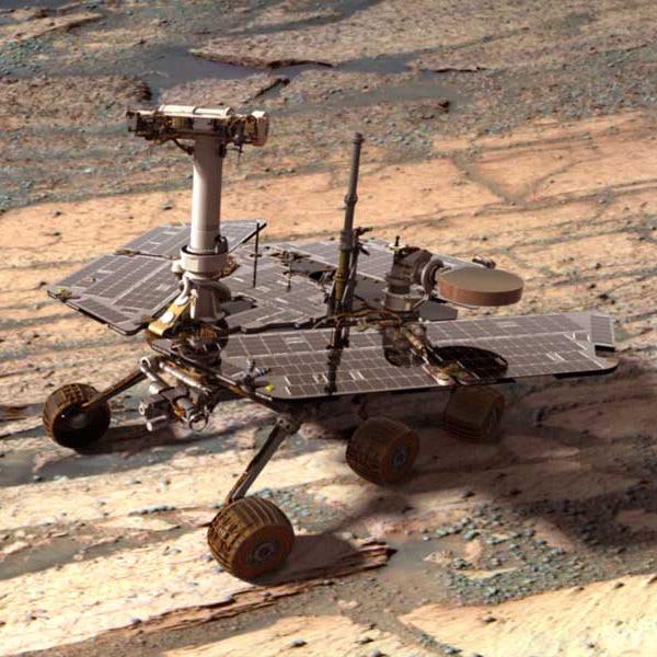 Opportunity, Марс, вода на Марсе, Марсоход Opportunity доказал, что в древности на Марсе была пресная вода