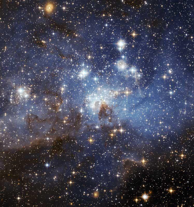 3. Карликовая галактика Большое Магелланово Облако. Диаметр этой галактики почти в 20 раз меньше диаметра нашей собственной галактики, Млечного Пути.