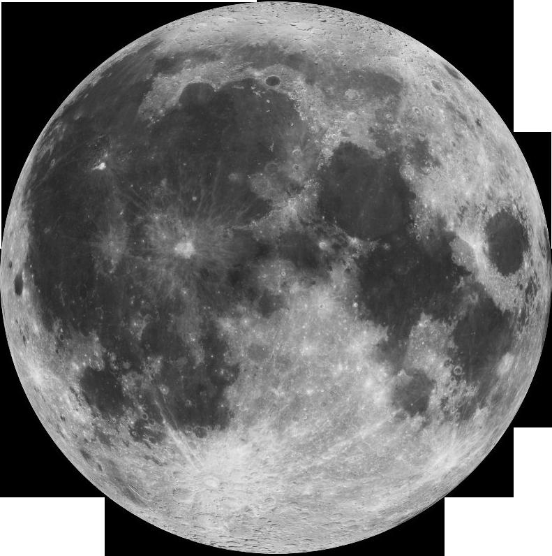 moon in night