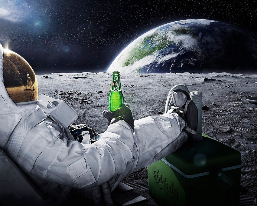 прикол, космос