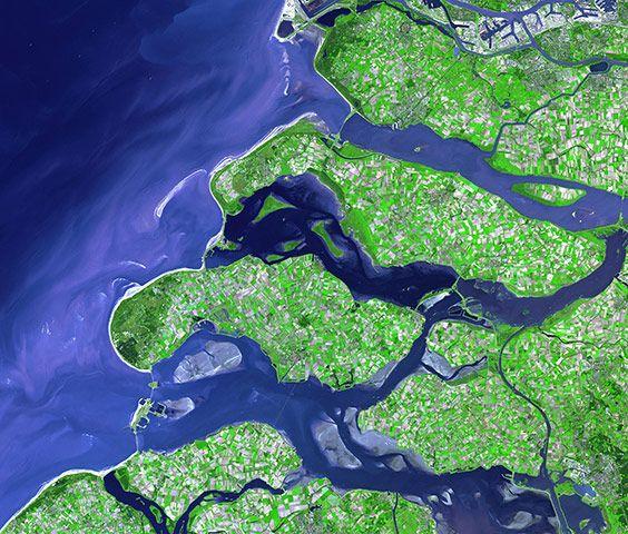 Юго-западное побережье Нидерландов.