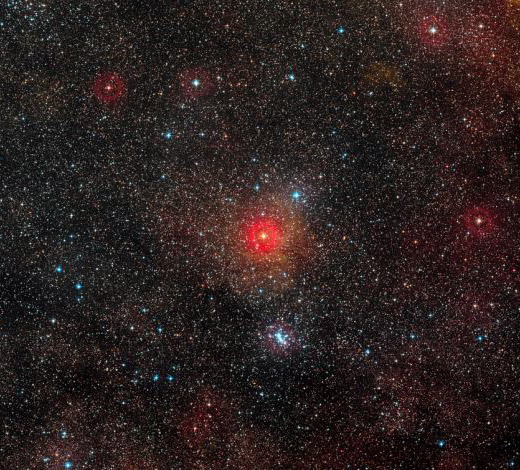 гипергигант hr 5171 самая яркая звезда