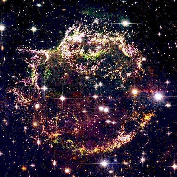 NASA, звезда, сверхновая, NASA раскрывает тайну взрыва звезд