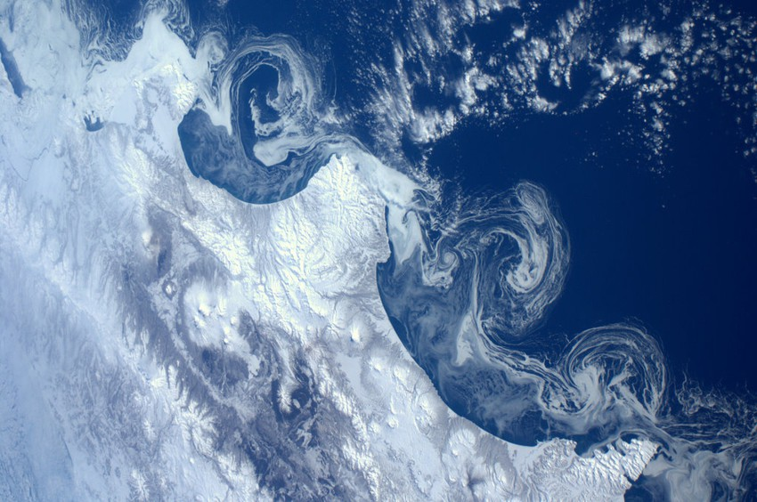 Земля из космоса в фотографиях Андре Куиперса космос, земля, пейзаж