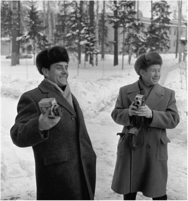 Душевные фото первых космонавтов СССР фотографии, космонавт, ссср, день космонавтики