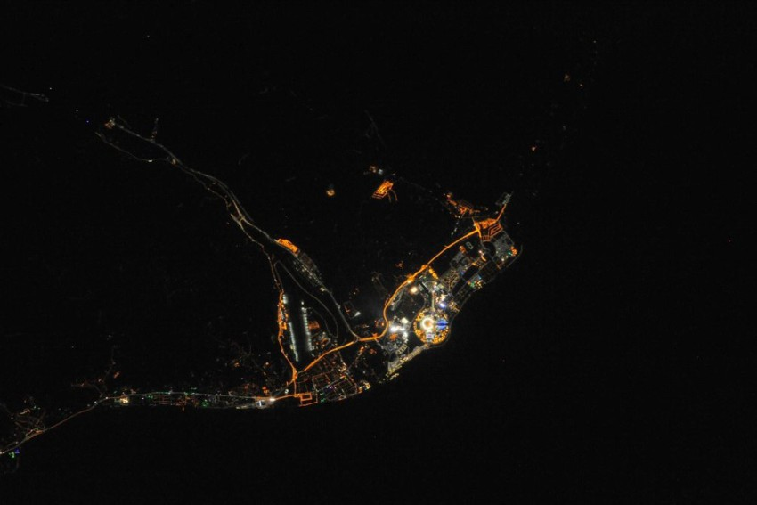 Nasa сделала снимки Сочи из космоса сочи, олимпиада, космос