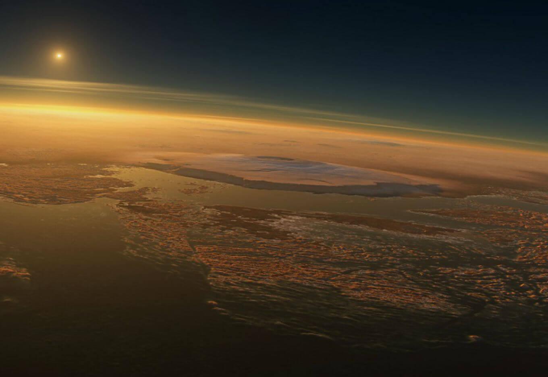 Специалисты НАСА создали видео о том, как выглядел Марс 4 млрд. лет назад