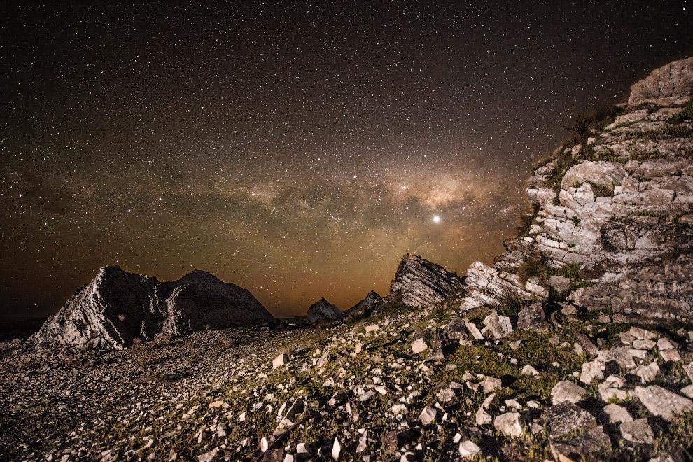 Млечный путь в Новой Зеландии