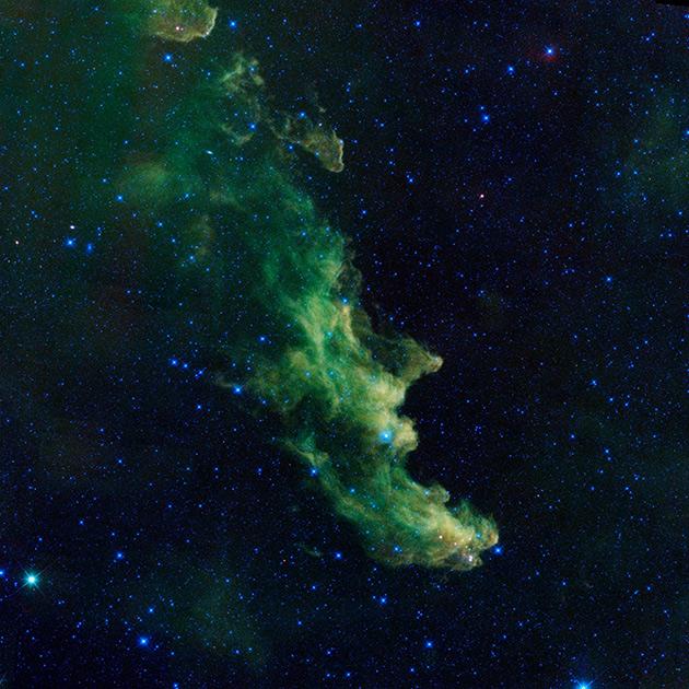 Туманность Голова Ведьмы в созвездии Эридан