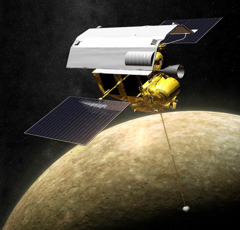 messenger spacecraft launch date - 800×768
