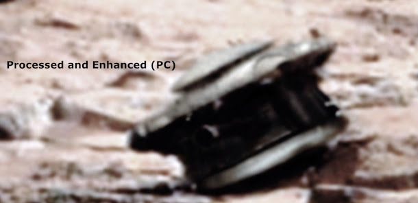На Марсе нашли «сбитый дрон»